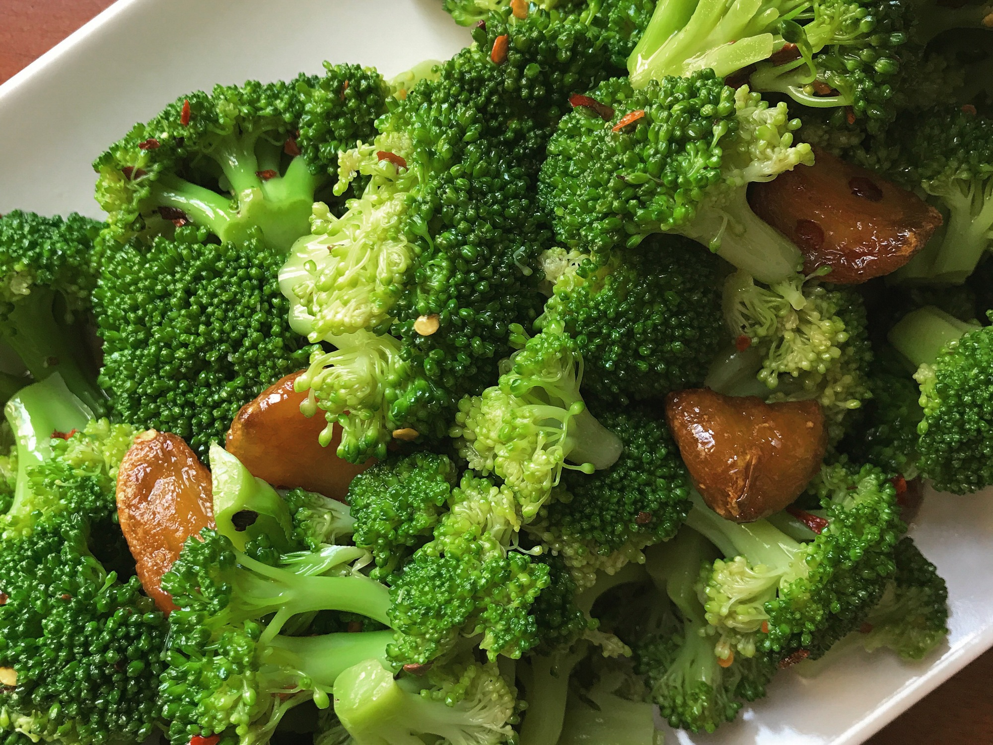 364 Broccoli With Garlic Soy Sauce Store Bought Is Fine